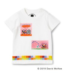 skeegee/【ぞうのエルマー】ボックスアートプリントTシャツ/502317061
