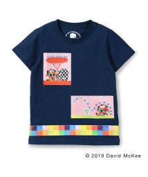 skeegee/【ぞうのエルマー】ボックスアートプリントTシャツ(90~130cm)/502317061