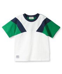 RADCHAP/配色切替半袖Tシャツ/502317063