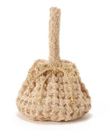 SLOBE IENA/Larone crochet drawstring one ハンドバッグ/502318144