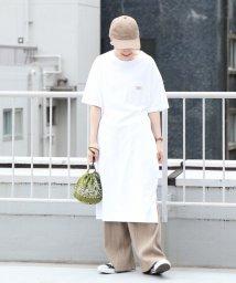 coen/【【『リンネル』8月号掲載・WEB限定カラー⇒ネイビー】SMITH別注Tシャツワンピース/502318212