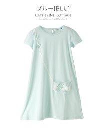 a8e11633de2ac Catherine Cottage 半袖チュニックポシェットワンピース(110-130cm) 502318404