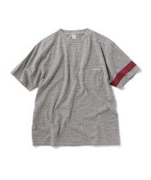 SHIPS MEN/KAPTAIN SUNSHINE×SHIPS: 別注 アシンメトリー ライン Tシャツ/502318508