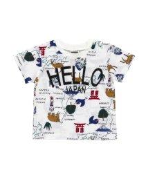 F.O.KIDS / F.O.KIDS MART/HARUNAYAMAKAWAコラボ地図柄Tシャツ/502003071