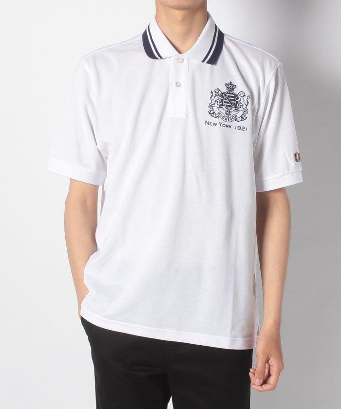 【一部店舗限定】McG衿ライン半袖ポロシャツ