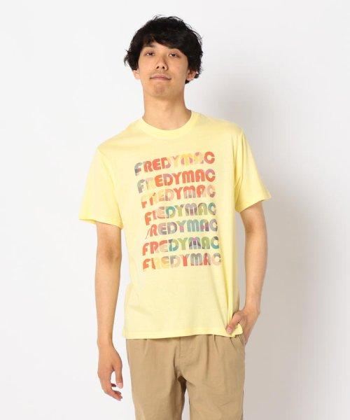 FREDYMAC(フレディマック)/ラグマットマーブルインクジェットTシャツ/9-0678-2-50-023