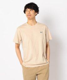 FREDYMAC/【PEANUTS×FREDY MAC】スヌーピーワンポイント刺しゅうTシャツ/502309933