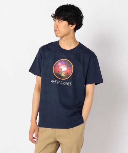 FREDYMAC(フレディマック)/【PEANUTS×FREDY MAC】SNOOPY DEEP SPACE Tシャツ/9-0690-2-50-016
