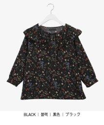 sonyunara/SONYUNARA(ソニョナラ)ワイドカラー花柄ブラウス/502314865