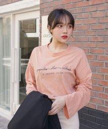 sonyunara/SONYUNARA(ソニョナラ)筆記体長袖Tシャツ/502314893