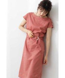 PROPORTION BODY DRESSING/◆2Way麻ボートネックワンピース/502319320