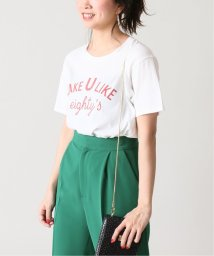 U by Spick&Span/プリントTシャツ2◆/502320222