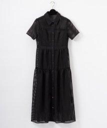 GRACE CONTINENTAL/メッシュシャツドレス/502321716
