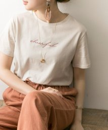 URBAN RESEARCH/刺繍ロゴTシャツ/502322284