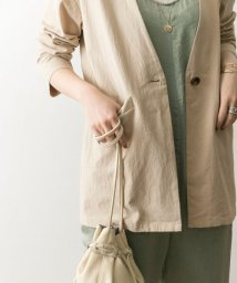 URBAN RESEARCH/製品洗いVネックシャツジャケット/502322298