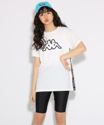 PINK-latte/★ニコラ掲載★【kappa】Tシャツ+サイクルパンツ セット/502323438