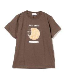BEAMS MEN/BEAMS / SNEAK SNACKS プリント Tシャツ/502037560