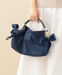 LE JOUR/【CACHELLIE】ONE HANDLE RIBBON 2WAY TOTE(S)/502299556