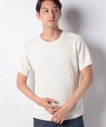 INCREWSIVE/【INCREWSIVE】11.5オンス ランダムワッフル コットンTシャツ/502299887