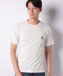 INCREWSIVE/【INCREWSIVE】6.5オンス コットン ワンポイント刺繍Tシャツ/502299894