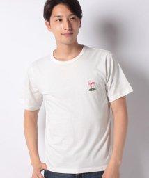 INCREWSIVE/【INCREWSIVE】6.5オンス コットン ワンポイント刺繍Tシャツ/502299900