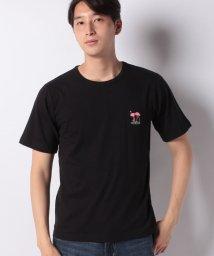 INCREWSIVE/【INCREWSIVE】6.5オンス コットン ワンポイント刺繍Tシャツ/502299901