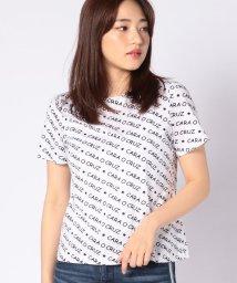 CARA O CRUZ/ロゴTシャツ/502311410