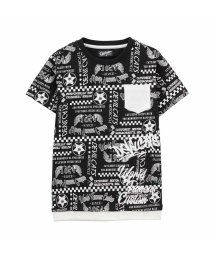 MAC HOUSE(kid's)/Devilcats MOTORCYCLE ボーイズ 総柄ポケットTシャツ 362573029/502316752