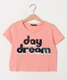 SISLEY YOUNG/リブショート半袖Tシャツ・カットソー/502317452