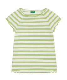 BENETTON (UNITED COLORS OF BENETTON GIRLS)/ボーダーラグラン半袖Tシャツ・カットソー/502317481
