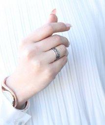 ninon/【silver925】アンティークオールドシルバーオープンリング/502321981
