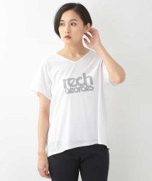 GEORGES RECH/【洗える】ロゴVネックTシャツ/502323630