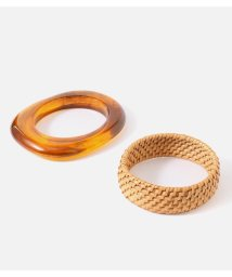 AZUL by moussy/RATTAN×MARBLE BANGLE SET/502323795