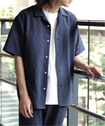 JOINT WORKS/EVALETドライタッチオープンカラーシャツ◆/502324149