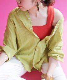 SLOBE IENA/《予約》SLOBE citron. カラーシャツ◆/502325258