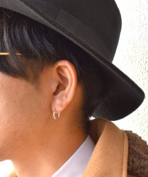 LION HEART/LH for Gift クロッシングピアス/plane hoop/SV/S/502325675