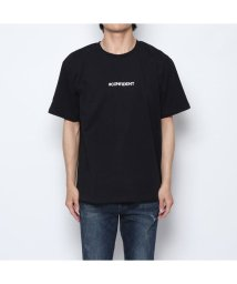 STYLEBLOCK/スタイルブロック STYLEBLOCK バックガールズフォトエンボスプリント半袖ビッグTシャツ (ブラック)/502326166