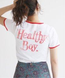 SLOBE IENA/SLOBE citron. Healthy Boy パイピングTシャツ◆/502326287