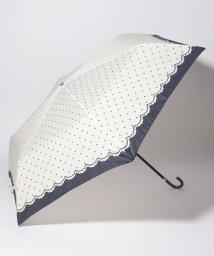 Afternoon Tea LIVING/シンプルドット折りたたみ傘 雨傘/502305525