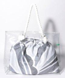 BENETTON (women)/ベネトン巾着付きPVCトートバッグ/502317033