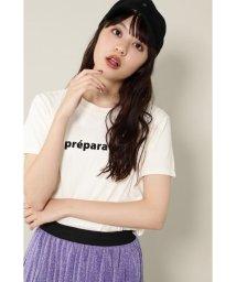 ROSE BUD/バレエプリントTシャツ/502323719