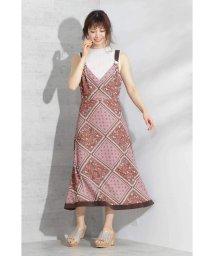 PROPORTION BODY DRESSING/◆スカーフパネルワンピース/502327276