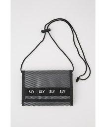 SLY/LOGO MESH WALLET SHOULDER/502327340