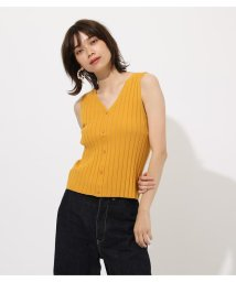 AZUL by moussy/2WAY WIDE RIB KNIT TOPS/502327371