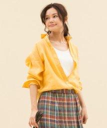 NIJYUSANKU/【一部店舗限定・洗える】ボタニカル ダイローン シャツ/502327613