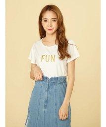 MIIA/FUNロゴTシャツ/502311121