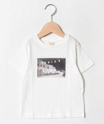 petit main/VENICEフォトプリントTシャツ/502313688