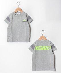 X-girl Stages/袖ラインスポーツTシャツ/502313690