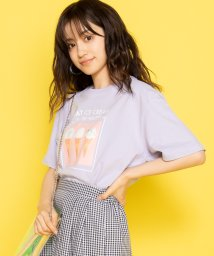 WEGO/スイーツフォトTシャツ(S)/502083790