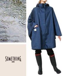 MARUKAWA/【SOMETHING】サムシング エドウィン レイン ポンチョ 雨具 雨合羽 カッパ 自転車 通勤 通学 バイク  台風 アウトドア キャンプ/502305968